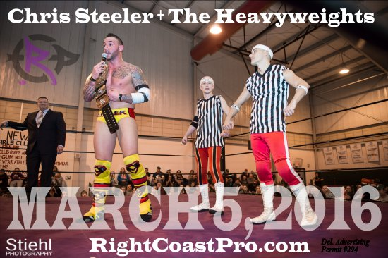 HEAVYWEIGHTS RCP28 RightCoastPro Wrestling Delaware Event