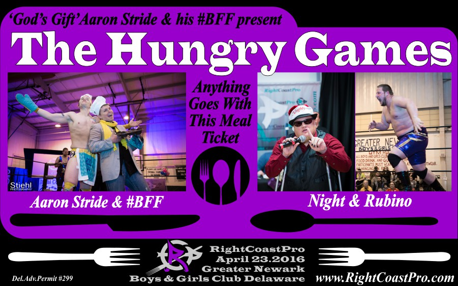 HungryGames RCP29 RightCoastPro Wrestling Delaware
