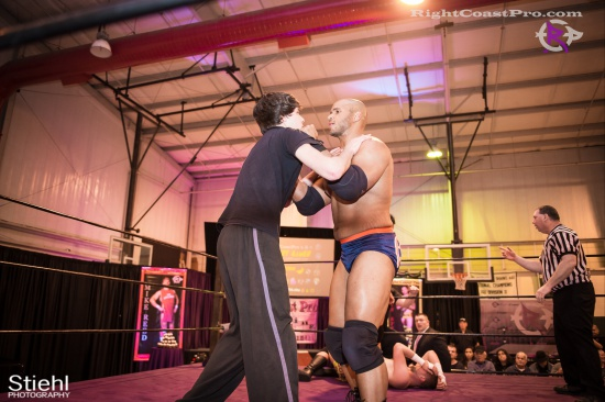 SlimJim 1 RightCoastPro Wrestling Delaware hungry games Event