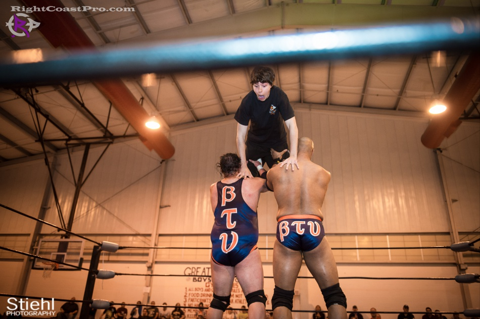 SlimJim RightCoastPro Wrestling Delaware hungry games Event