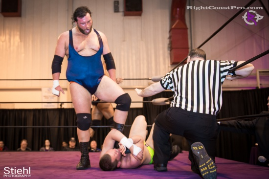 BTY 17 RightCoastPro Wrestling Delaware hungry games Event