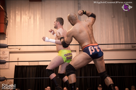 BTY 7 RightCoastPro Wrestling Delaware hungry games Event