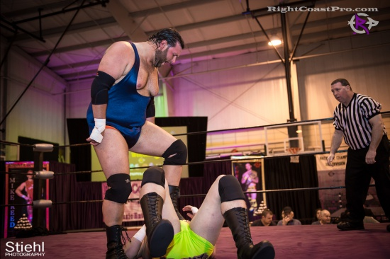BTY 9 RightCoastPro Wrestling Delaware hungry games Event