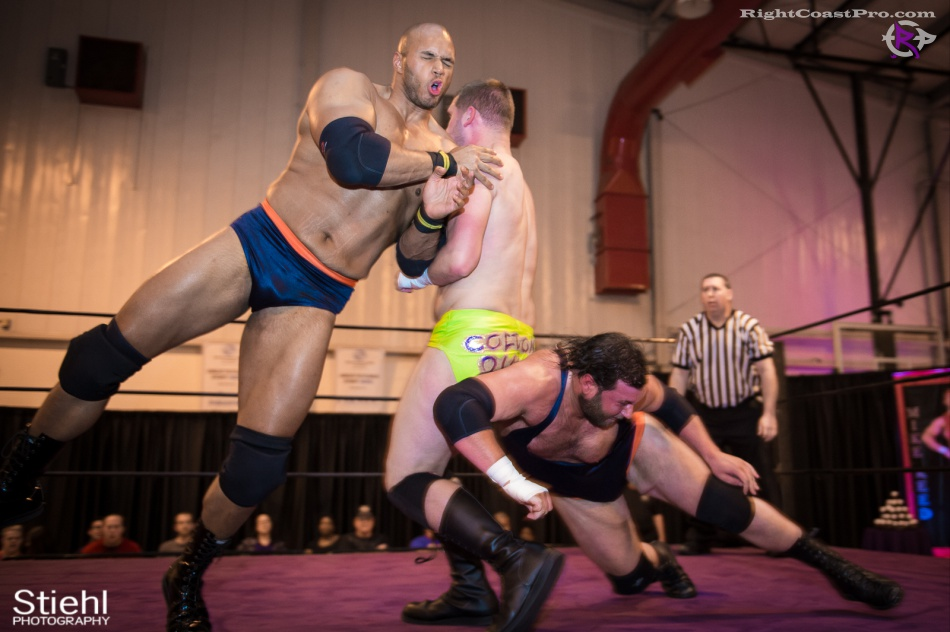 BTY RightCoastPro Wrestling Delaware hungry games Event