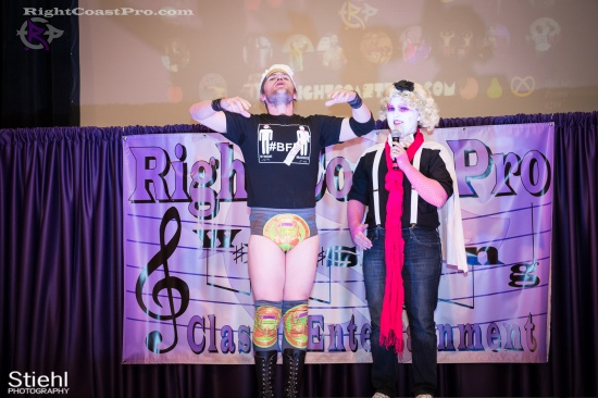 EffieTrinket 2 RightCoastPro Wrestling Delaware hungry games Event