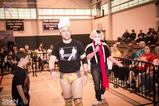 EffieTrinket 5 RightCoastPro Wrestling Delaware hungry games Event