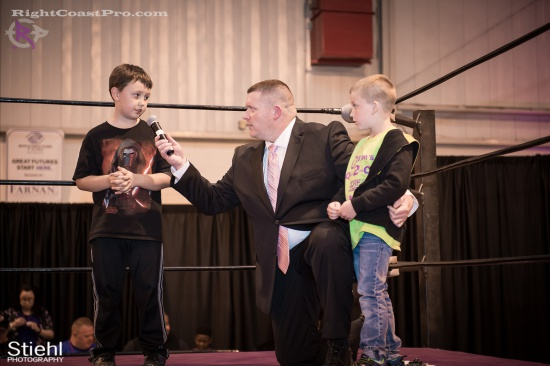 EffieTrinket 8 RightCoastPro Wrestling Delaware hungry games Event