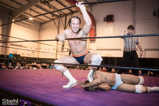 BrianJohnson 3 DaveDavis RightCoastPro Wrestling Delaware hungry games Event