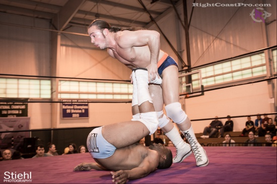 BrianJohnson 8 DaveDavis RightCoastPro Wrestling Delaware hungry games Event