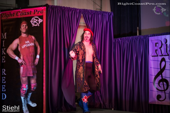 DiscoDave 1 ZPB RightCoastPro Wrestling Delaware hungry games Event