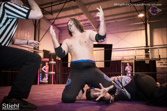 DiscoDave 10 ZPB RightCoastPro Wrestling Delaware hungry games Event