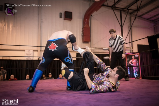 DiscoDave 11 ZPB RightCoastPro Wrestling Delaware hungry games Event