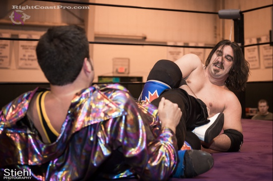 DiscoDave 12 ZPB RightCoastPro Wrestling Delaware hungry games Event