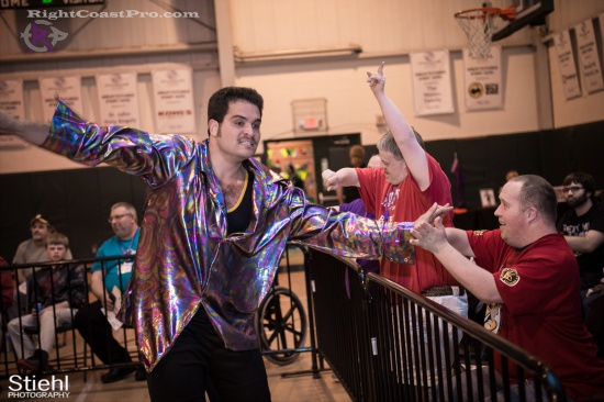 DiscoDave 14 ZPB RightCoastPro Wrestling Delaware hungry games Event