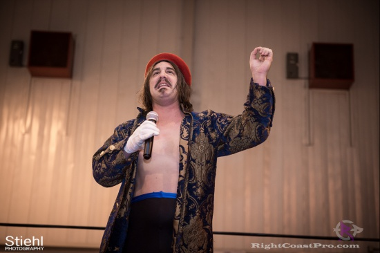 DiscoDave 3 ZPB RightCoastPro Wrestling Delaware hungry games Event
