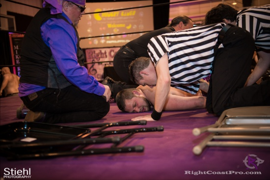 WWF 6 RightCoastPro Wrestling Delaware hungry games Event