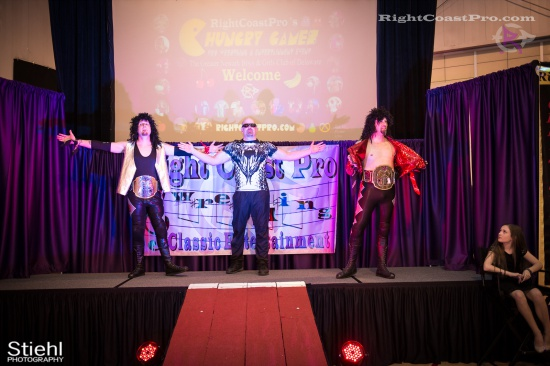 Heavyweights 1 BaldwinBrothers RightCoastPro Wrestling Delaware hungry games Event