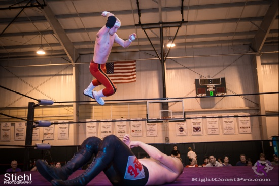 Heavyweights 15 BaldwinBrothers RightCoastPro Wrestling Delaware hungry games Event