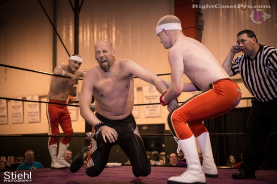 Heavyweights 5 BaldwinBrothers RightCoastPro Wrestling Delaware hungry games Event