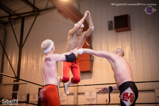 Heavyweights 6 BaldwinBrothers RightCoastPro Wrestling Delaware hungry games Event