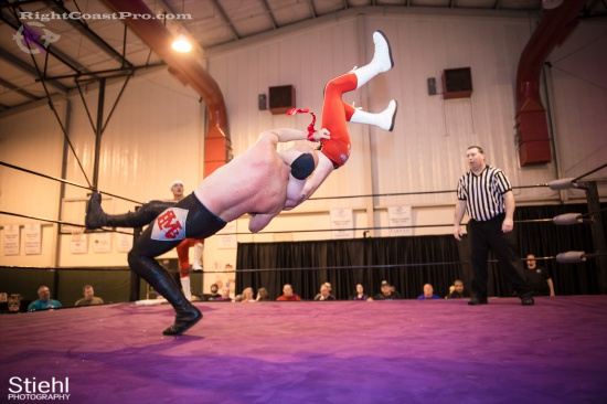 Heavyweights 8 BaldwinBrothers RightCoastPro Wrestling Delaware hungry games Event
