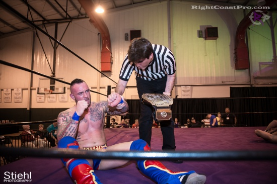 Steeler Reed 13 RightCoastPro Wrestling Delaware hungry games Event