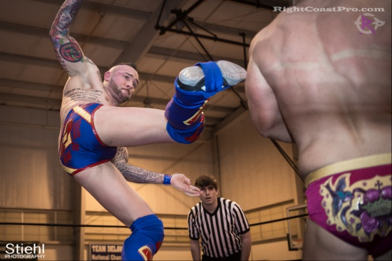 Steeler Reed 6 RightCoastPro Wrestling Delaware hungry games Event