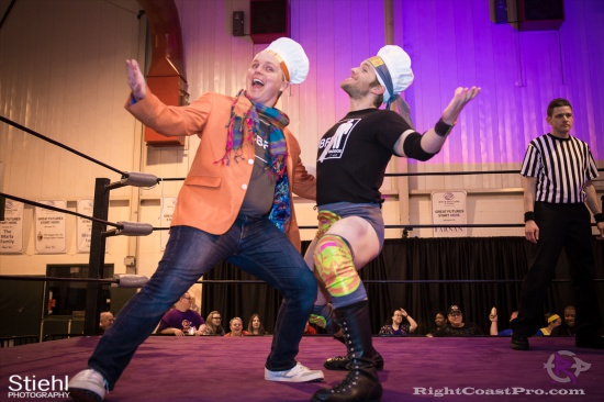Stride Ruby 1a RightCoastPro Wrestling Delaware hungry games Event