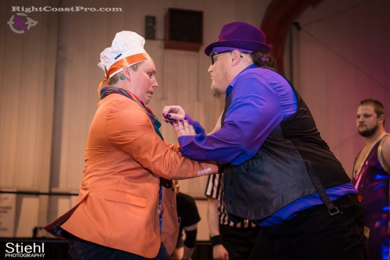 Stride Ruby 2a RightCoastPro Wrestling Delaware hungry games Event