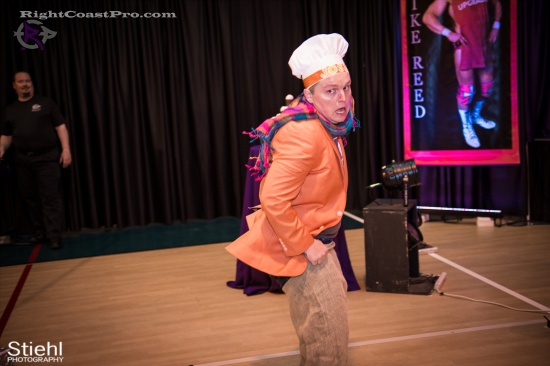 Stride Ruby 4 RightCoastPro Wrestling Delaware hungry games Event