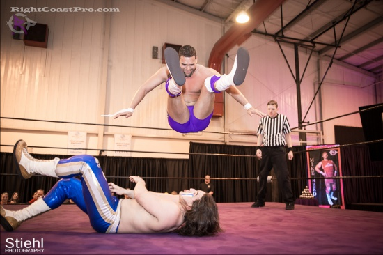 Chachi Tomahawk 12 RightCoastPro Wrestling Delaware hungry games Event