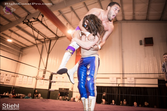 Chachi Tomahawk 13 RightCoastPro Wrestling Delaware hungry games Event