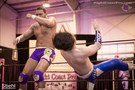 Chachi Tomahawk 5 RightCoastPro Wrestling Delaware hungry games Event