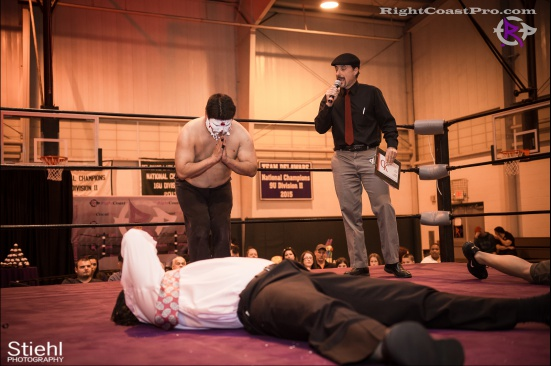 Setsu Ginsu 15 JJcrewguy RightCoastPro Wrestling Delaware hungry games Event