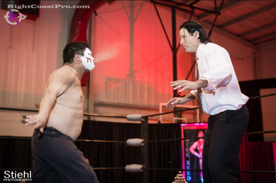 Setsu Ginsu JJcrewguy RightCoastPro Wrestling Delaware hungry games Event