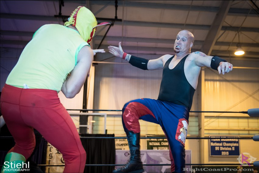 baldwin cruz 6 RightCoastPro Wrestling Delaware Festivus Event