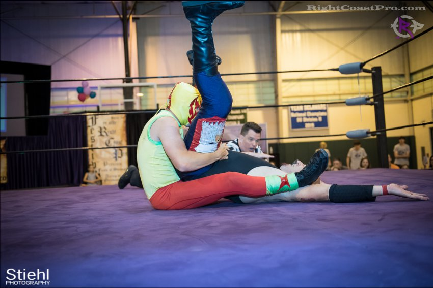 baldwin cruz 7 RightCoastPro Wrestling Delaware Festivus Event