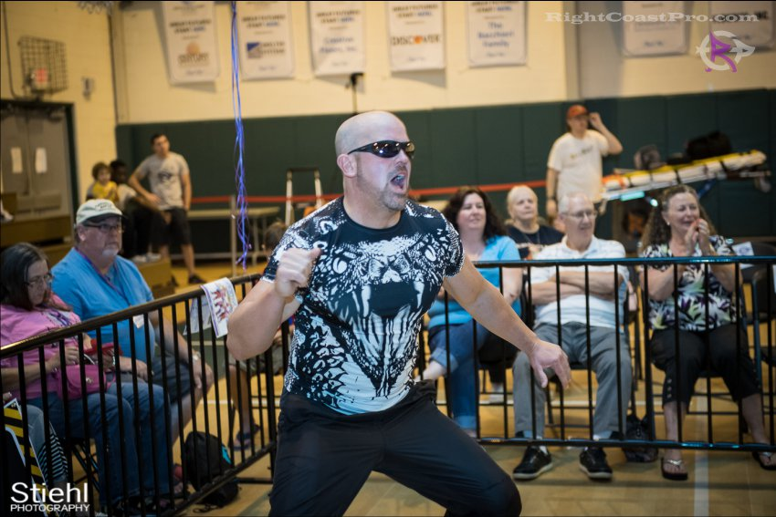baldwin cruz 8 RightCoastPro Wrestling Delaware Festivus Event