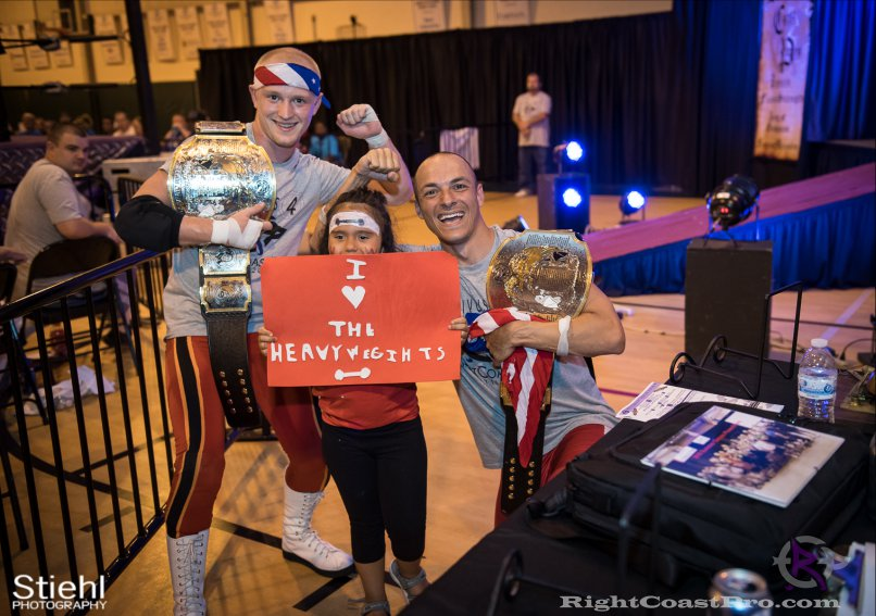 Heavyweights 12 Nanas RightCoastPro Wrestling Delaware Festivus Event