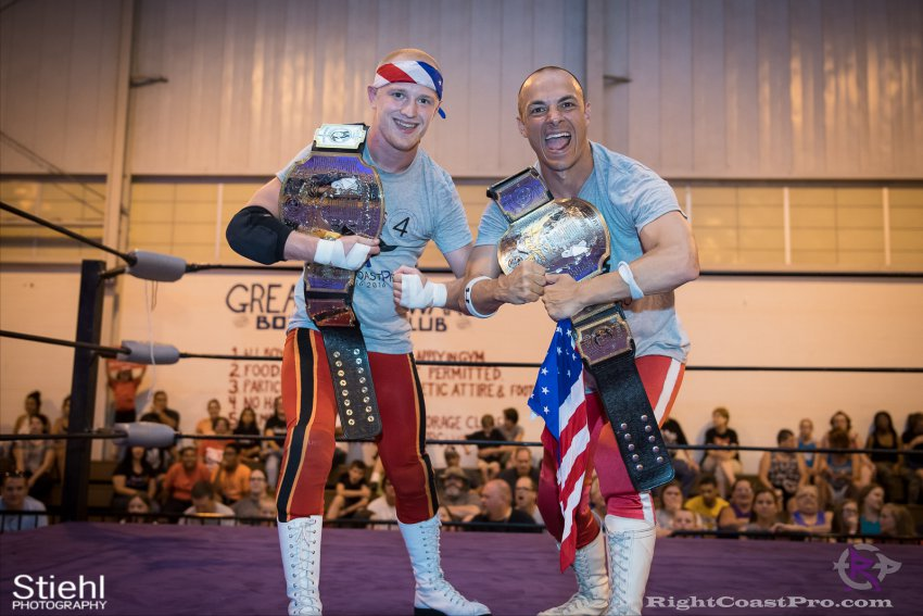 Heavyweights 13 Nanas RightCoastPro Wrestling Delaware Festivus Event