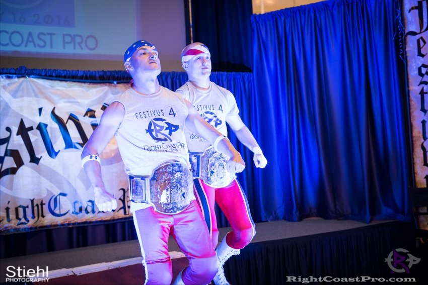 Heavyweights 2 Nanas RightCoastPro Wrestling Delaware Festivus Event