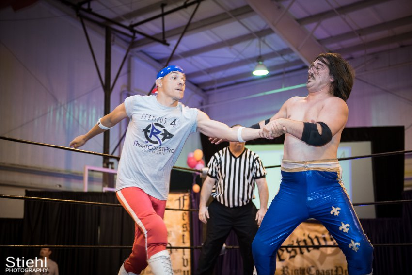 Heavyweights 3 Nanas RightCoastPro Wrestling Delaware Festivus Event