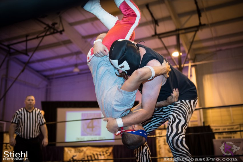 Heavyweights 5 Nanas RightCoastPro Wrestling Delaware Festivus Event