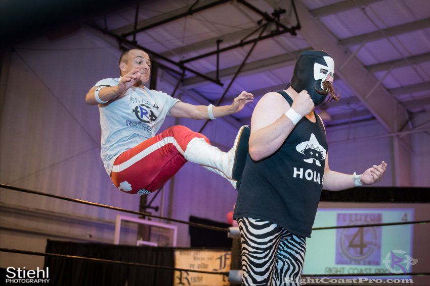 Heavyweights 9 Nanas RightCoastPro Wrestling Delaware Festivus Event