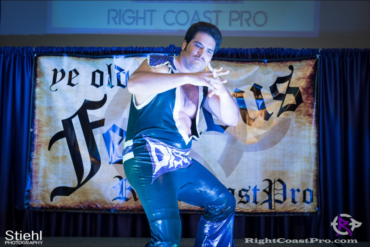 Disco A RightCoastPro Wrestling Delaware Festivus Event