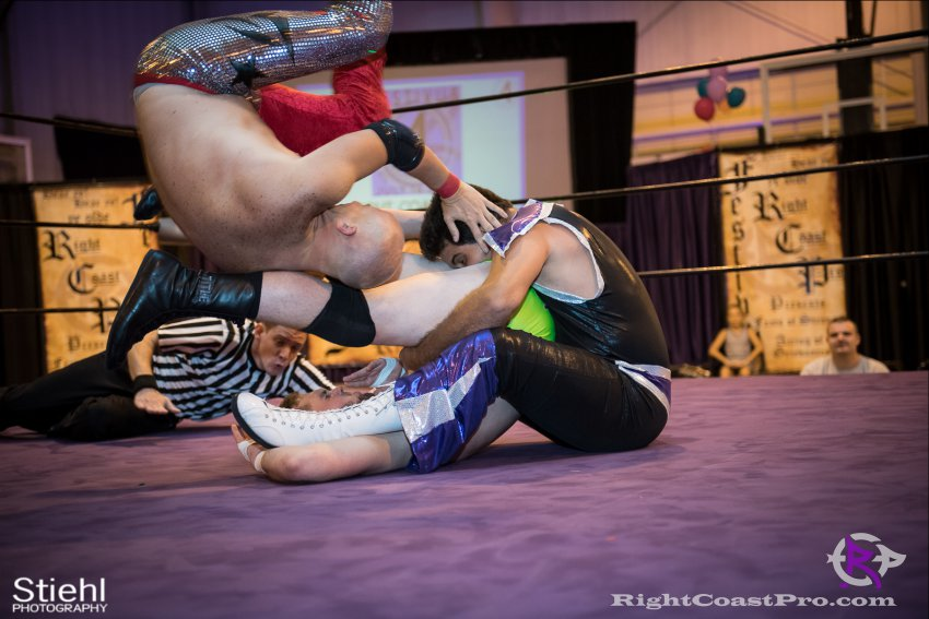 Fourway 1 RightCoastPro Wrestling Delaware Festivus Event