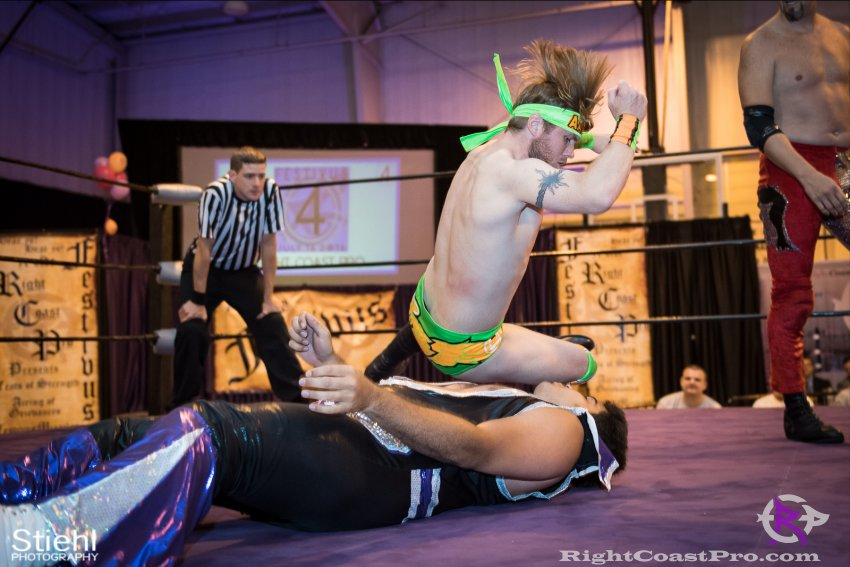 Fourway 6 RightCoastPro Wrestling Delaware Festivus Event