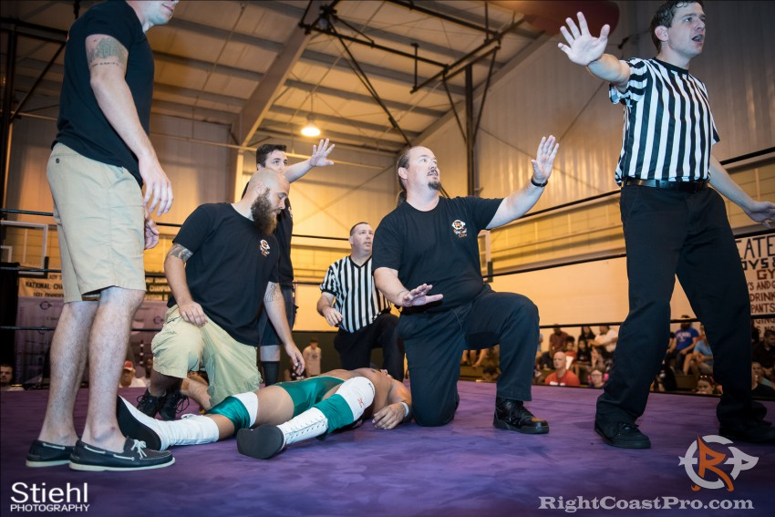 Chachi BTY 18 RCP31 RightCoast Pro Wrestling Delaware Event