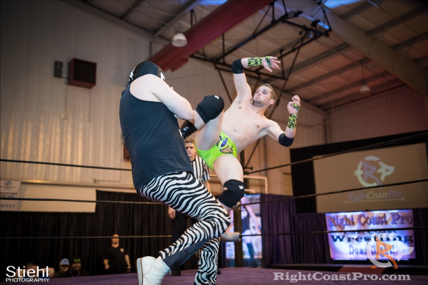 ColtonQuest 2 RCP31 RightCoast Pro Wrestling Delaware Event