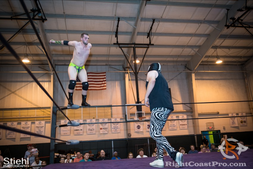 ColtonQuest 4 RCP31 RightCoast Pro Wrestling Delaware Event